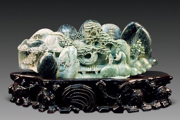 什么是玉?各类玉石雕刻精品欣赏(8)