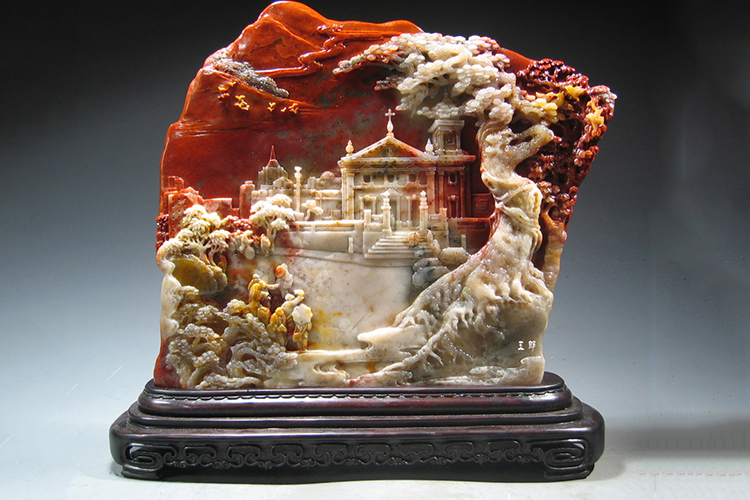 什么是玉?各类玉石雕刻精品欣赏(7)