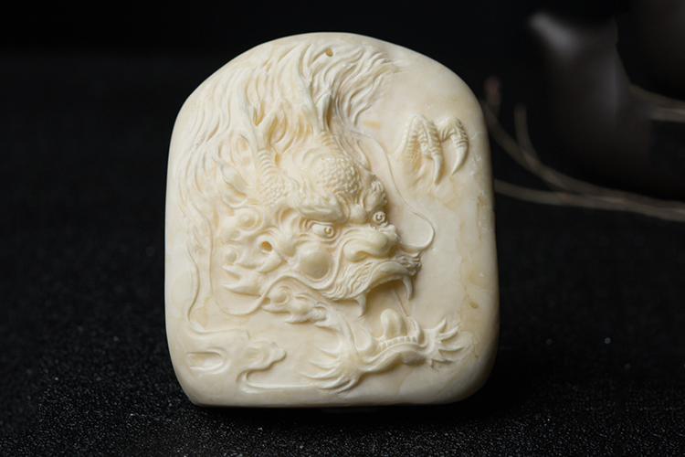 白蜜蜡图片,白蜜蜡雕刻精品欣赏(4)