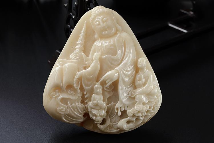 白蜜蜡图片,白蜜蜡雕刻精品欣赏(6)
