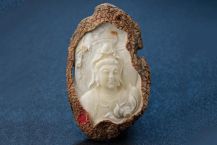白蜜蜡图片,白蜜蜡雕刻精品欣赏(8)