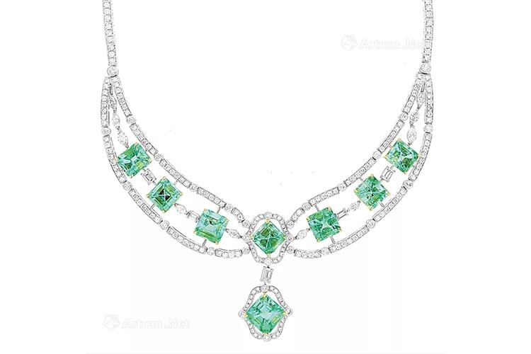 绿宝石之王,顶级祖母绿宝石镶嵌作品欣赏(3)