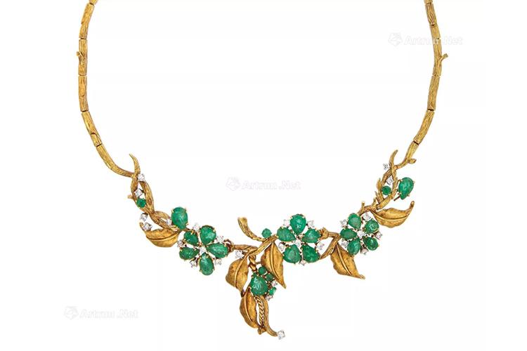 绿宝石之王,顶级祖母绿宝石镶嵌作品欣赏(9)