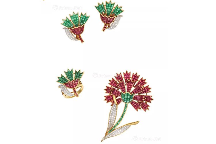 绿宝石之王,顶级祖母绿宝石镶嵌作品欣赏(5)