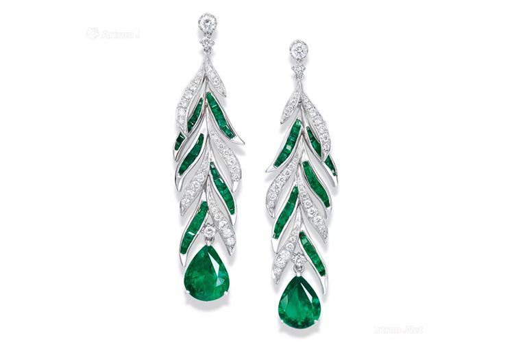 绿宝石之王,顶级祖母绿宝石镶嵌作品欣赏(2)