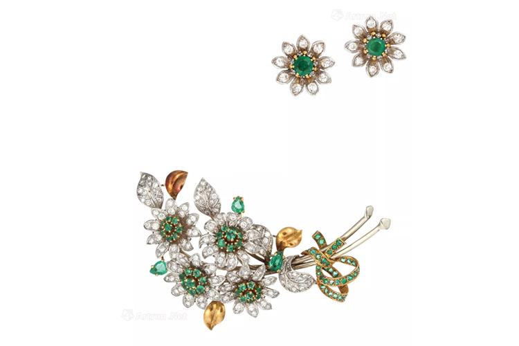 绿宝石之王,顶级祖母绿宝石镶嵌作品欣赏(8)