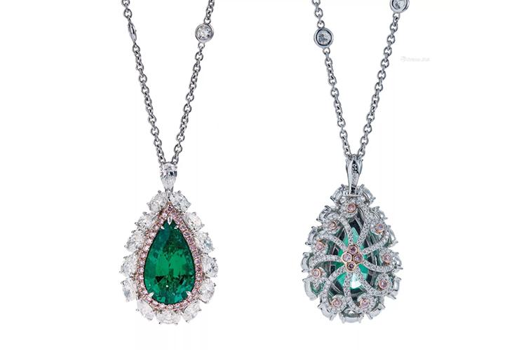 绿宝石之王,顶级祖母绿宝石镶嵌作品欣赏(4)