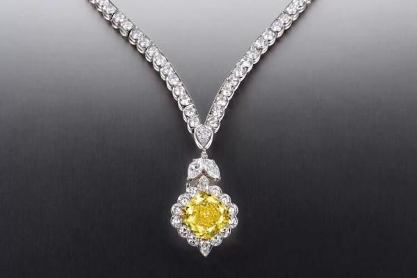 钻石项链图片欣赏,顶级奢华钻石项链欣赏