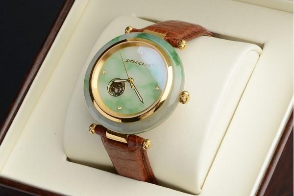翡翠手表精品欣赏,翡翠手表图片