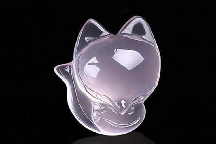 粉水晶狐狸吊坠的作用?粉水晶狐狸很强大吗?(6)