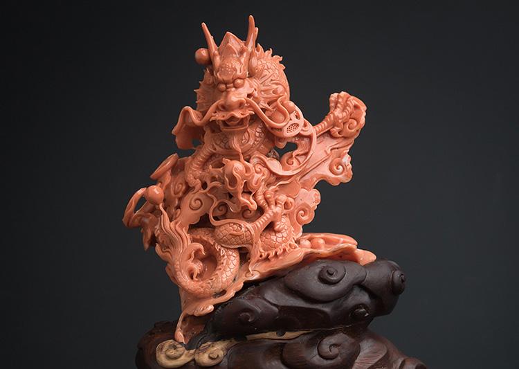 红珊瑚饰品价格-玉雕名家