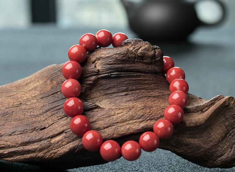 红珊瑚手串-玉雕名家