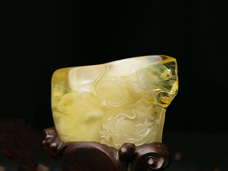 蜜蜡和琥珀-玉雕名家