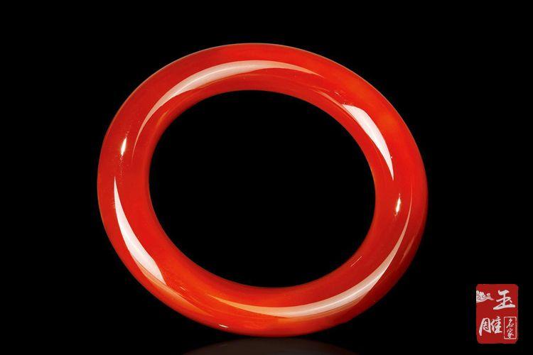 红玛瑙手镯价格-玉雕名家