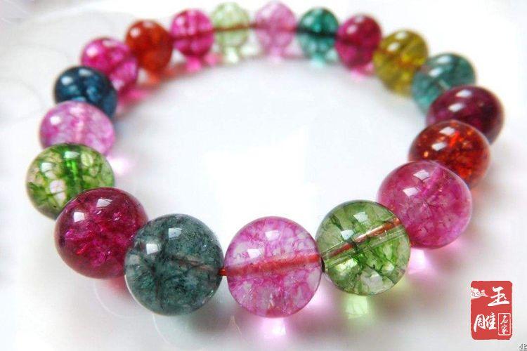 染色水晶手链-玉雕名家