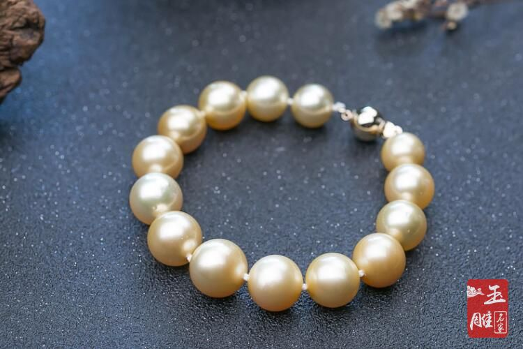 天然珍珠手链-玉雕名家