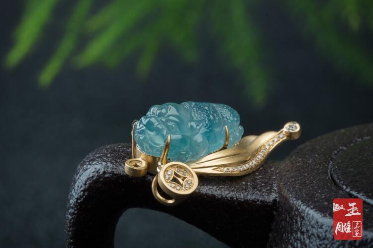 蓝水翡翠-玉雕名家