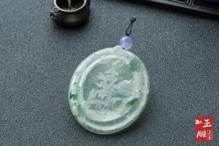 冰种翡翠-玉雕名家