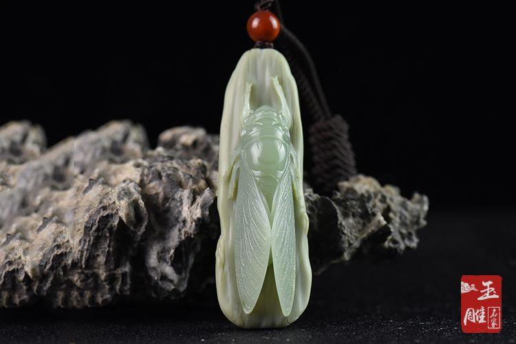 玉雕蝉-玉雕名家