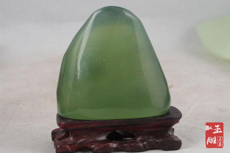 岫玉原石的价格-玉雕名家