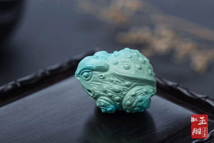三足蟾蜍-玉雕名家