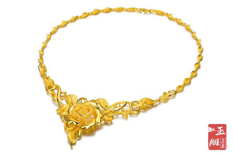 黄金项链-玉雕名家