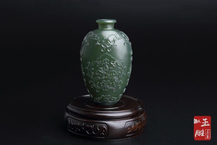 花瓶-玉雕名家