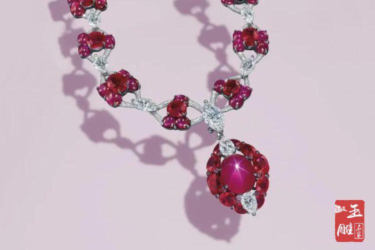 星光红宝石项链-玉雕名家