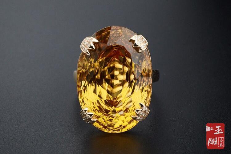 黄水晶的功效与作用-玉雕名家