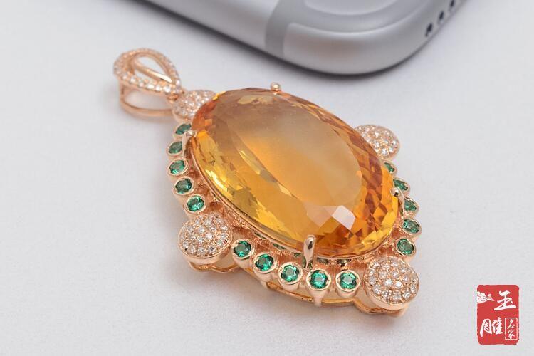 黄水晶有哪些功效与作用-玉雕名家