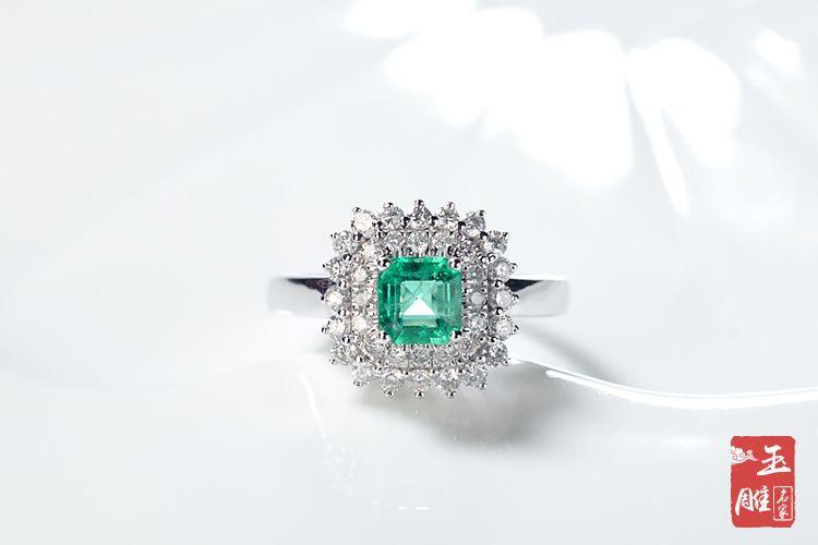 绿宝石戒指-玉雕名家