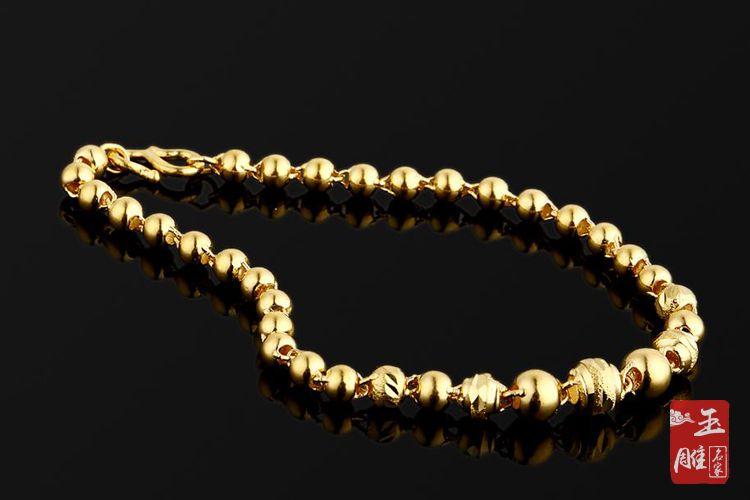 足金项链-玉雕名家