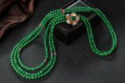 翡翠珠串和古代后宫有啥关系?翡翠珠串的数量有何寓意?